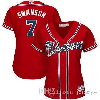 2019 Josh Donaldson Atlanta Baseball Braves Trikot Nick Markakis Dale Murphy Mike Soroka Startseite Cool Flex Base Baseball Trikots fabrik günstig