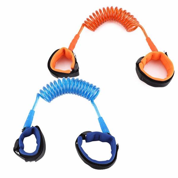 Enfants Anti Perdu poignet 1,5M sangle corde Harnais de sécurité enfant en bas âge Leash extérieur Courroie de main Bande anti-perte Wristband RRA1842