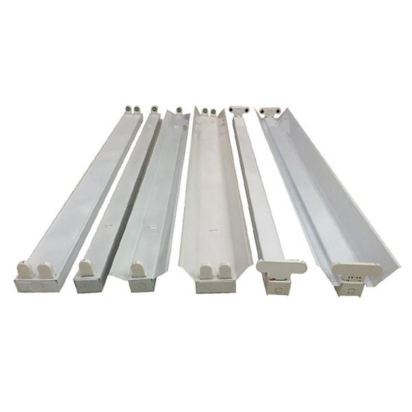 T8 Tubos Equipo de soporte de lámpara LED 2 Luz G13 Base Tubo bombilla t8 Led accesorio 1200mm, T8 tubo Accesorio / Soporte / Soporte / Stent