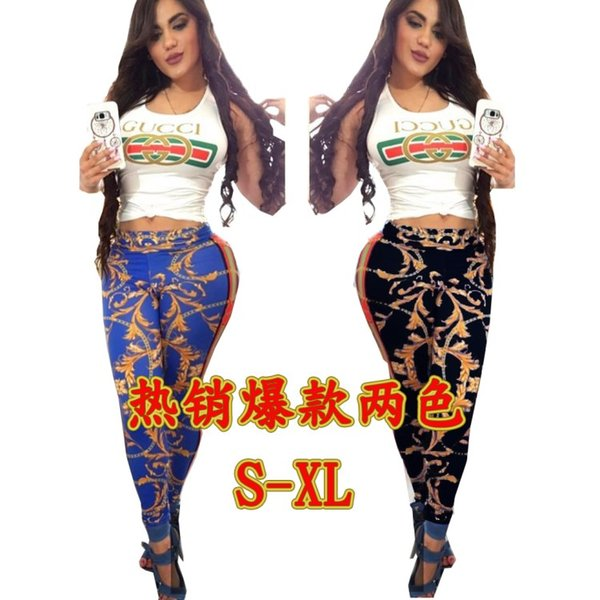 2019 Designer Womens Clothing Women Outfits Casual Tracksuits Jogging Sport  Suit Sweatshirt Tight Sport Suit Sport Trousers Klw0959 From Clover_3,