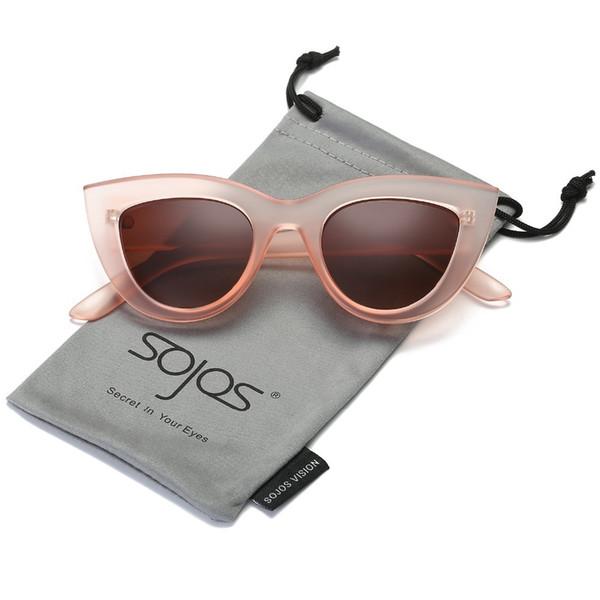 Sunglasses Women's Accessories Cat's Eye Style Brand Designer Model Plastic Black Cloud Uv 400 Sunglasses