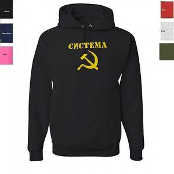 Systema Russian Martial Art Hoodie Russia KGB CCCP Sweatshirt SIZES S 3XL