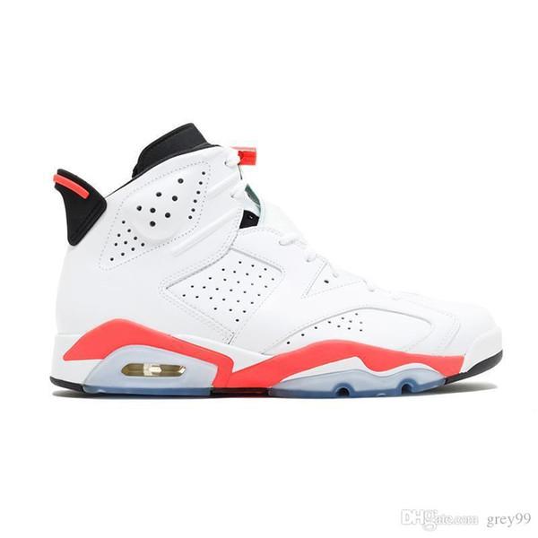 mens 6 6s zapatillas de baloncesto infrarrojo UNC MARRÓN NEGRO CAT Carmine oreo Toro hombres Zapatos de la zapatilla de atletismo zapatillas de deporte de tamaño 8-13 al por mayor *