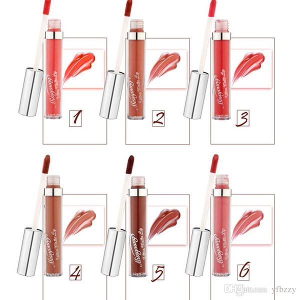 Make-up lipstick maquillage Hot Style Non-Stick Cup Non-Discoloration Matte Pearl Lipstick Lip Glaze Missyoung Brand Lip Gloss
