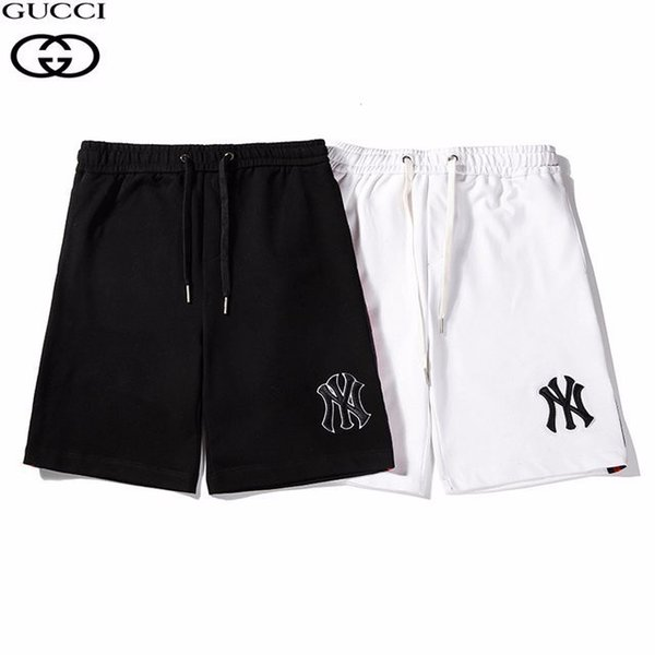 2019 men's sports and leisure cotton stretch running personality loose shorts high-end comfortable handsome 620 59206170
