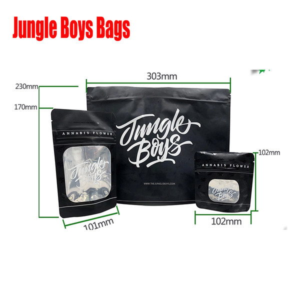 best selling 3.5g 7.0g OZ 1 Pound Jungle Boys Packaging Smell Proof Bags Child Resistant Jungleboys Stand Up Pouch for Dry Herb Flowers