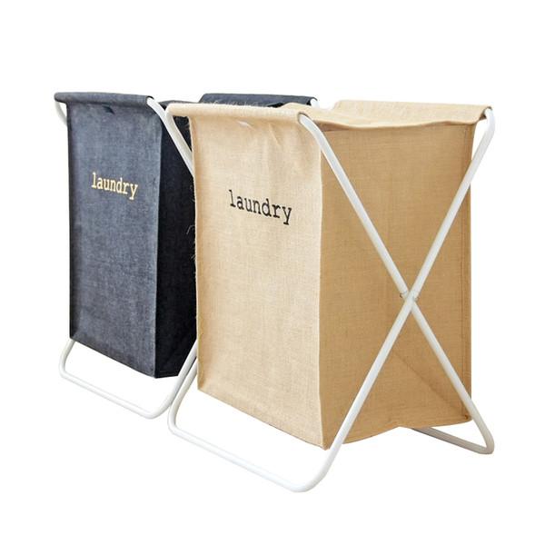 Free Shipping Laundry Basket 40*50cm Large Basket For Toy Washing Basket Dirty Clothes Sundries Storage Baskets Organizer