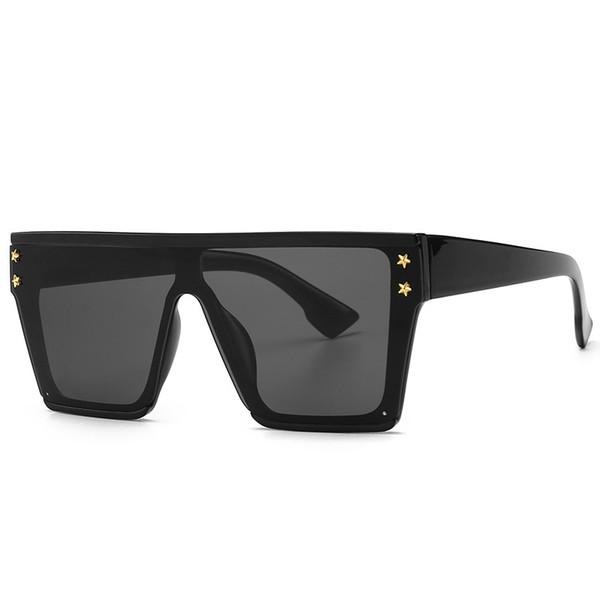 NEW Huge Lens Skull Rivet Sunglasses Oversized Shield Syle Fashion Shades 2019