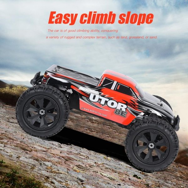 2.4GHz 1/8 4WD Remote Control Car 120A Brushless Waterproof ESC 70km/h RC Off-road Vehicle 7.4V 3200mAh Lipo battery car