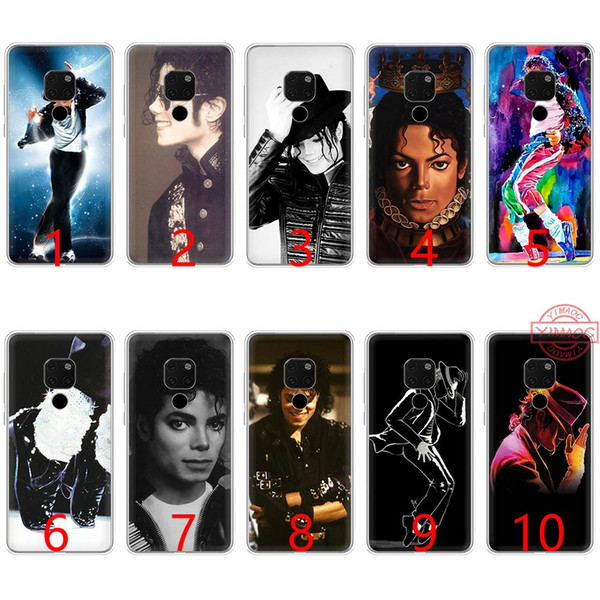 Michael jackson música dança silicone macio tpu phone case para huawei mate 20 10 pro nova 2i 3 3i 4 lite