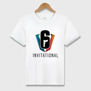 Tom Clancy 039 s T-shirt court en NeRock rond en coton avec logo Rainbow Six Siege