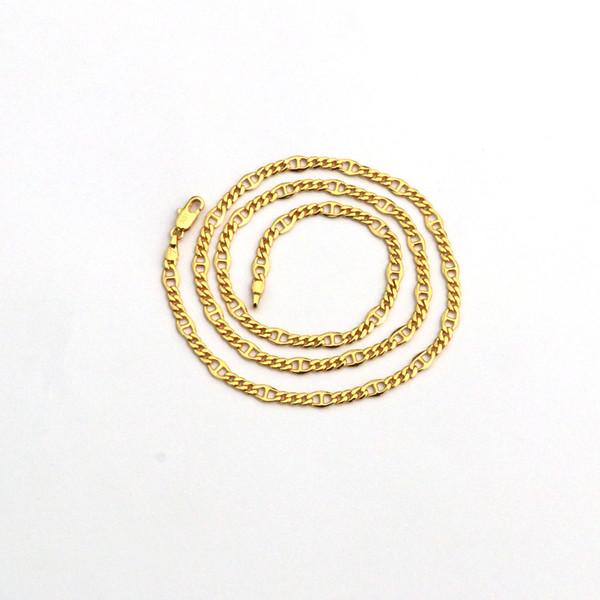 Noble solide 14 fine or GF soleil collier chaîne anniversaire cadeau Saint Valentin précieuse garantie de remplacement inconditionnel à vie