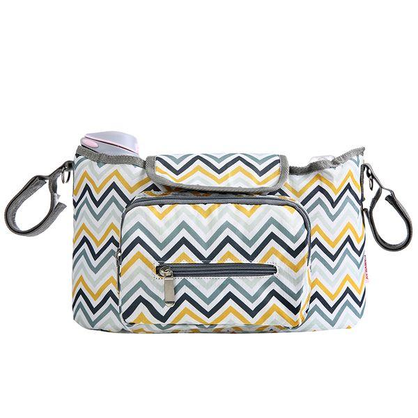 Brand New Striped Diaper Bags Fashion Maternity Mummy Messenger Bags Mother Handbag Baby Stroller Waterproof Bag