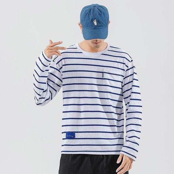 2019 magliette da uomo casual in cotone di marca maglietta da uomo a maniche lunghe moda di alta qualità magliette da uomo top maglietta da uomo stampa hiphop