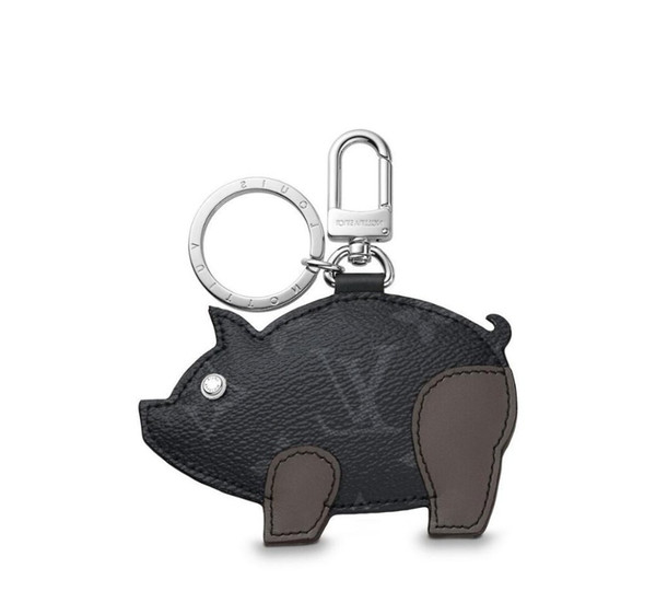Mp1994 New Pig Bag And Keychain Gray Key Holders And More Leather Bracelets Chromatic Bag Charm And Key Holder Scarves Belts