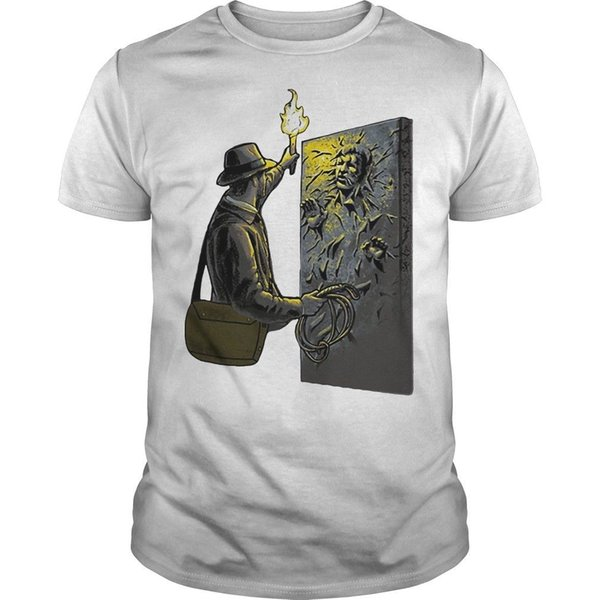 Han Solo Indiana Jones Mash Up Hemd Cool Casual Stolz T-Shirt Männer Unisex New Fashion T-Shirt Lose Größe Top Ajax
