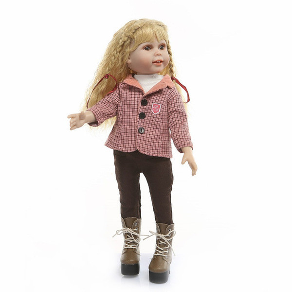 Reborn Babies 50cm high quality Stylish fashion model BJD CST dolls with blonde long hair bonecas girls toys gift