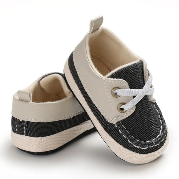 Baby Boys Breathable Anti-Slip Shoes Sneakers Soft Soled Walking Shoes 0-18M New