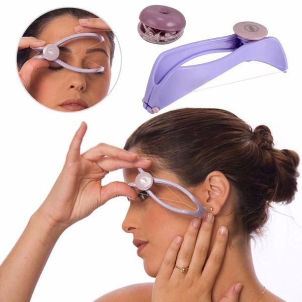 Dispositivo de eliminación de depiladora removedor de vello facial cuerpo depiladora Afeitado cara pelo herramienta de belleza femenina Trimmer