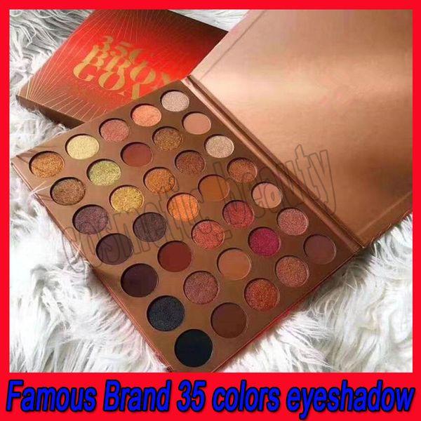 2019 Trucco New Eyes M 35G Bronze Goals Eye Beauty Colors Naturale 35 colori opachi di lunga durata