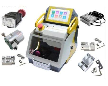 2019 Origina KukaiPortable Laser Key Cutting Machine SEC-E9 5 Abrazaderas + Cargador de potenciaPrecio de alta calidad más barato y envío rápido Producto CNC