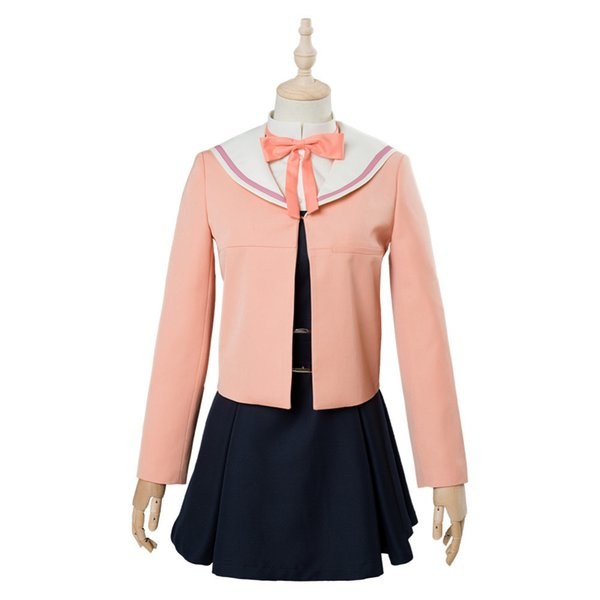 Anime Bloom Into You Nanami Touko Cosplay Costume Dress Girls School Uniform Dress Halloween Carnival Cosplay Costumes