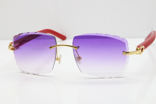 Gold Purple Lens