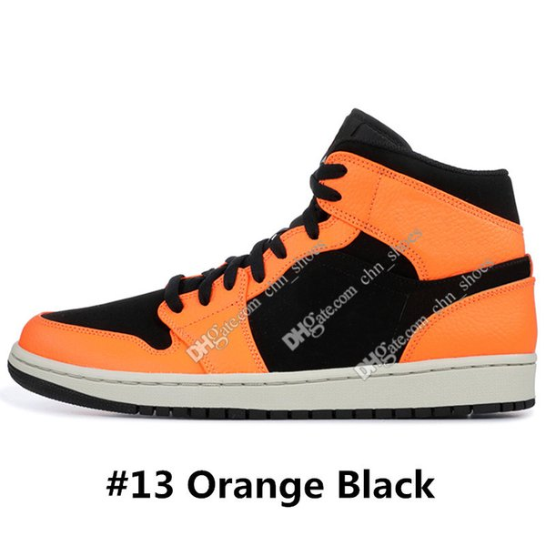 # 13 Orange Schwarz