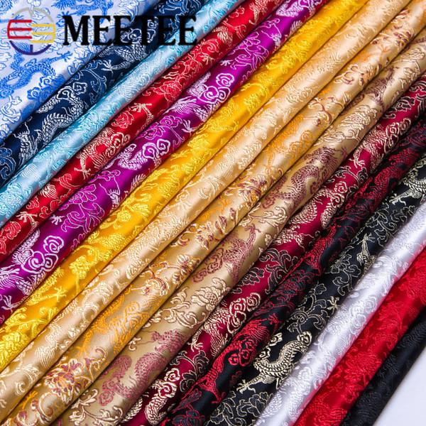 Meetee wide75cm Rétro Brocade Tissu Rayon En Soie Matériel pour Sacs Étape Vêtements Meubles Coussin Cheongsam DIY Artisanat Accessoire