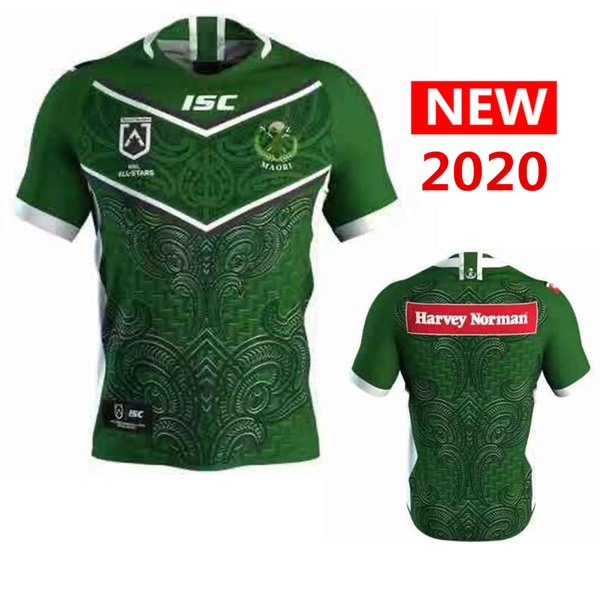 Maori alle Sterne Rugby Jersey 2020 Hauptjersey Liga Hemd Rugby-Trikots Shirts s-5xl