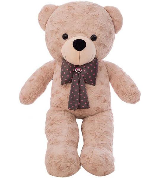 High Quality 75CM Teddy Bear With Scarf Stuffed Animals Bear Plush Toys Teddy Bear Doll Lovers Baby Birthday Gift