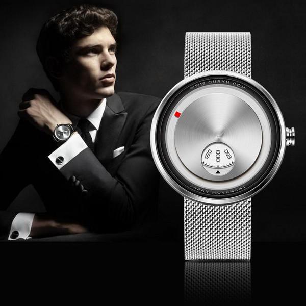 Sinobi relógios Com Pulseira de Tira Milan Criativos 2019 Relogio Esporte e Criativo frete Gratis Pulseira Armadura Mostrador