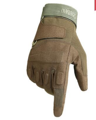 Motorcycle gloves winter windproof four seasons riding gloves anti-fall long finger more glove man