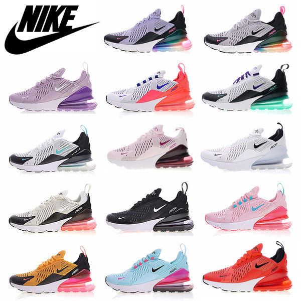 best selling Men Women 270 Max Running Shoes 27C Triple White Black Habanero Red Chaussures Medium Olive TN Airs Cushion Maxes Sports sneakers Size 36-45