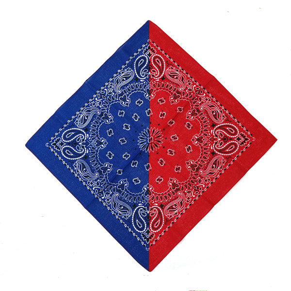 red blue bandana