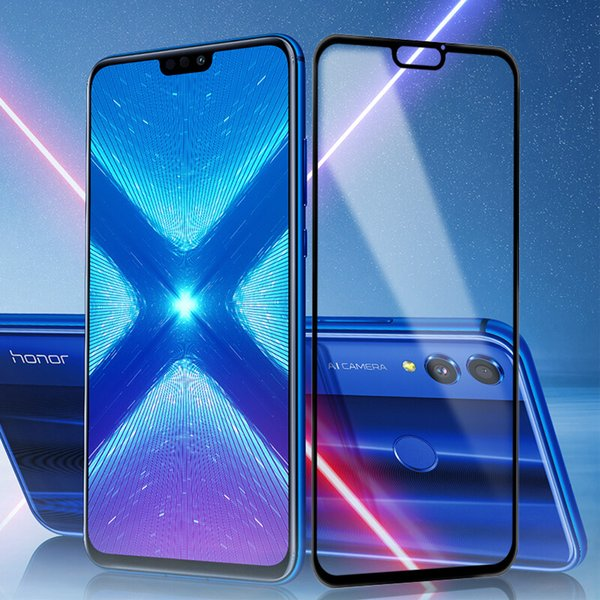 Honor 8X Max Tempered Glass MOFI For Huawei Honor 8X Full Cover Screen  Protector Film Glass Honor 8X Max 2 5D Tempered Film Explosion Proof  Tempered