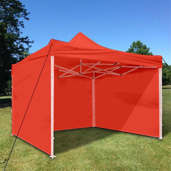 top popular Oxford Cloth Party Tent With Sides Waterproof Garden Patio Outdoor Canopy 3x3m Sun Wall Sunshade Shelter Tarp Sidewall Sunshade 2021