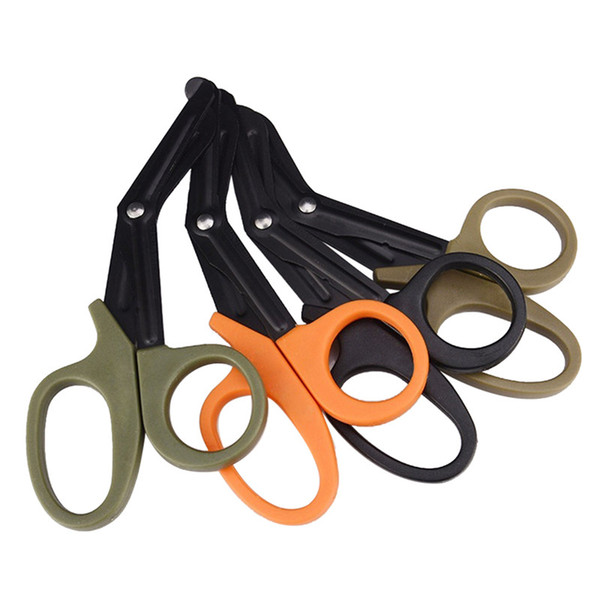 Souvenirs New ETM EDC Gear Pocket Size Scissor Bandage Paramedic Shears Survival Rescue Tool emergency medical team Wholesale