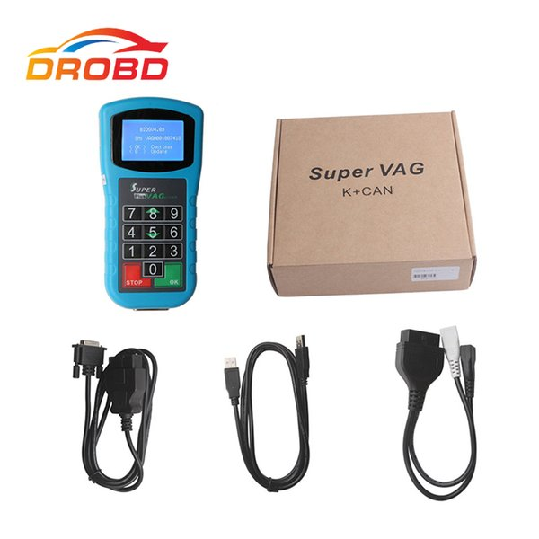 New Arrival Super VAG K CAN K+CAN Plus 2.0 Diagnostic Mileage Correction Pin Code Reader Super VAG K+CAN Plus 2.0 High Quality