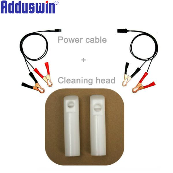 Herramienta de limpieza de boquillas de accionamiento manual Adduswin, máquina herramienta de limpieza de inyectores de combustible automotriz, sistema de combustible