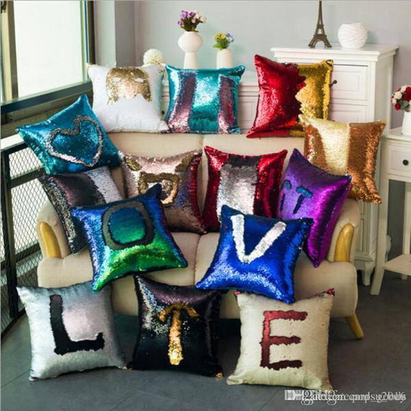Sequins Cushion Covers Pillow Cases
