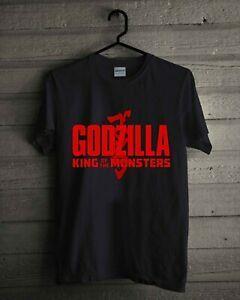 NEW Godzilla King Of The Men Men T-SHIRT REPRINT SIZE S-2XL