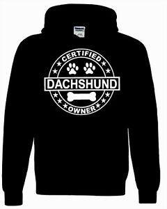 Dachshund Köpek Kapüşonlu Sweatshirt SahibiEğlenceli