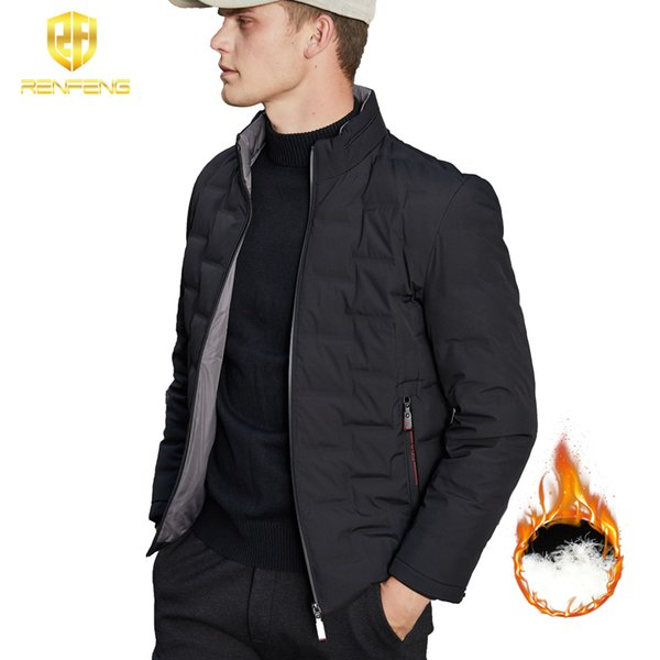2019 High Quality 90% White Duck Thick Down Jacket men coat Snow parkas male Warm Brand Clothing winter Down Jacket Outerwear