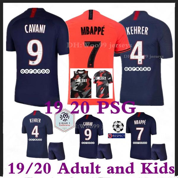 2019 2020 PSG Paris Trikot 23 Michael JD 19 20 Paris Basketball Trikots Jordam Paris MBAPPE Kinder Trikot Herren Fußball