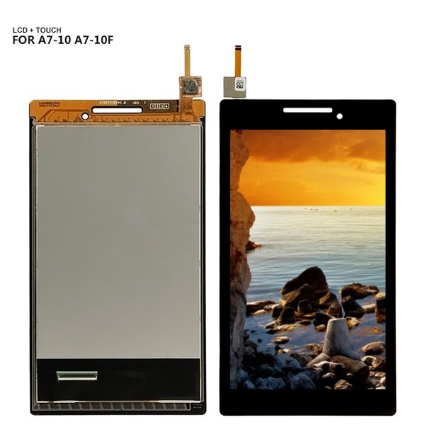 For Lenovo Tab 2 A7-20 A7-20F A7-10 A7-10F LCD display touch screen digitizer Glass assembly +Tools