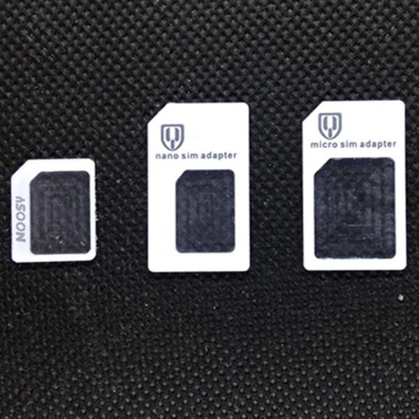 Sim Karten Adapter Schablone.Micro Sim Zuschneiden Freies Dhl 3 In 1 Neue Marke Nano Micro Standard Sim Karte Konverter Adapter Nano Sim Karte Micro Sim Karte Fur Handy Schablone
