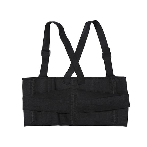 Back Support Brace Shoulder Straps Male Pain Belt Back Corset for Men Heavy Lift Sport Lumbar Support Belt Posture Corrector #146717