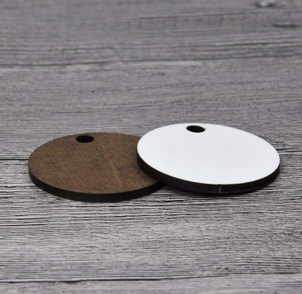 Großhandel 100 Stücke Splitter Sublimation Metall Visitenkarten Laser Gravierte Metall Visitenkarten Sublimation Rohlinge 3 4x2 1 In Thicknes Von