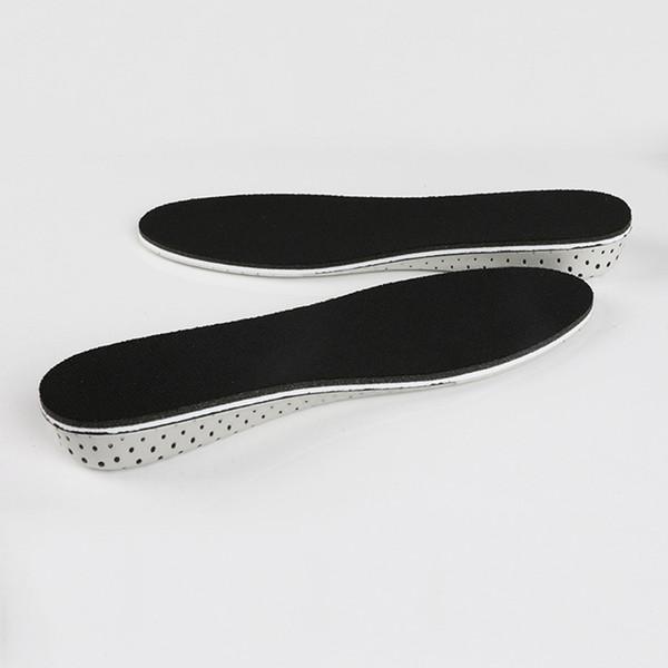 Neue Art 1 Paar Frauen Männer Höhe erhöhen Einlegesohlen atmungsaktiv Beweis langlebige Schuhe Pads